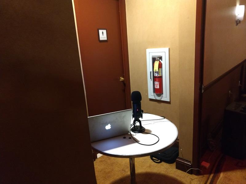 GMP SGL 2019 Recording Studio 2